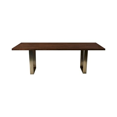 Dining Table Wide Edge With Brass Leg Hire Society Dining Table Hire