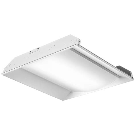 lithonia recessed lighting fixtures lithonia lighting 2 ft x 4 ft white led prismatic lens