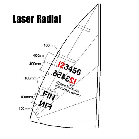 sailboat numbers how to apply laser sailboat sail numbers laserxd sailing