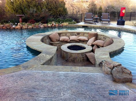 inground pit designs 11 amazing designs of pits built inside pools