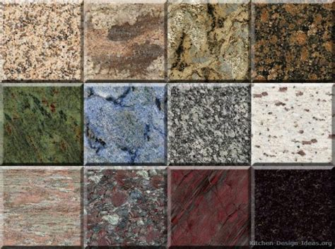 Granite Types For Countertops by Best Granite Countertops For Cherry Cabinets