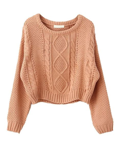 crop knit sweater cable knit cropped sweater