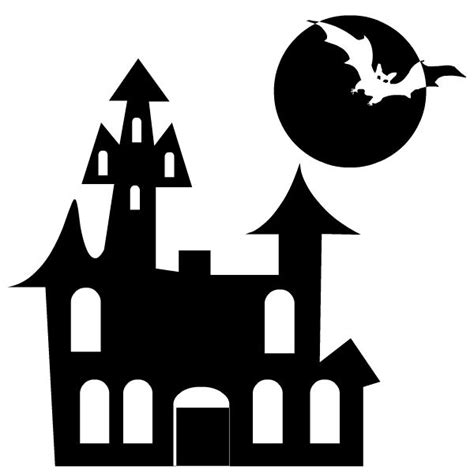 haunted house template holiday lessons pinterest