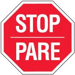 stop signs stop pare reflective signs seton