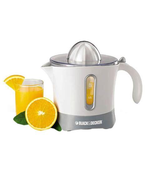 Juicer Black And Decker black decker cj 650 citrus juicer price in india buy