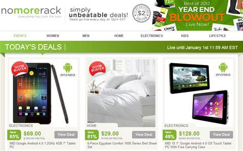 great deals nomorerack semo net