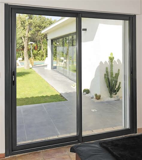 Aluminium Patio Sliding Doors Aluminum Door India Pest Tempered Glass For Sliding Door Sliding Door Lock The King