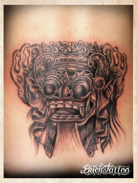 buch tattoo bali buch barong bali by buchtattoo on deviantart