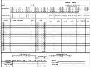 download basketball scoresheet for free formxls