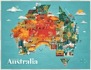 australia tourist map maps update 991806 tourist attractions map in australia