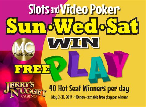 Free Game Giveaway - hot seat free play giveaway jerry s nugget