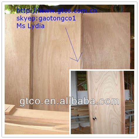 trade assurance 210x700x3 2mm okoume door skin plywood