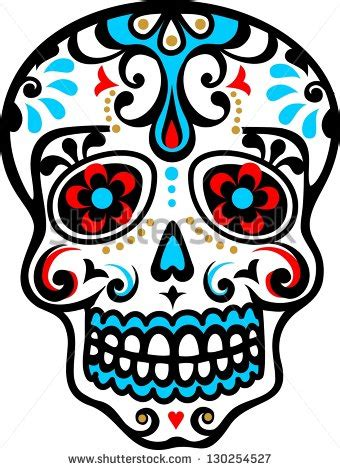 Day Of The Dead Mexico Stock Photos Images Pictures Day Of The Dead Skull Vector