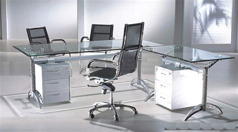 Glass Home Office Furniture Glass Furniture Coolwallpaperz