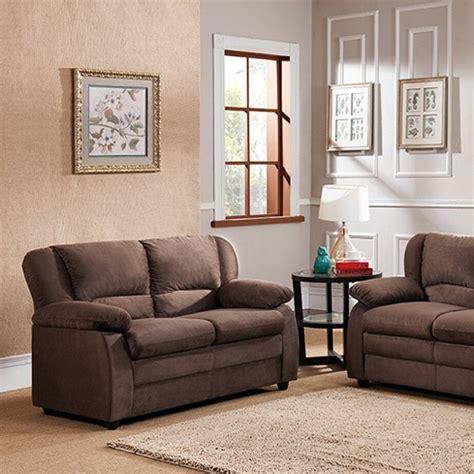 Huntsville Upholstery by K B Furniture Huntsville Loveseat Chocolate Sofas