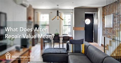 what does loan to value mean when buying a house what does after repair value mean mortgage info