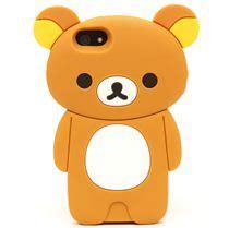rilakkuma brown iphone 5 5s cover by san