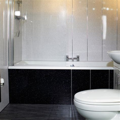 fitting bathroom cladding black sparkle bathroom cladding direct