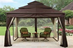Replacement canopies for gazebos pergolas and swings
