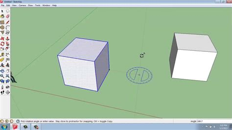 sketchup layout rotate view sketchup 9 the rotate tool brooke godfrey youtube