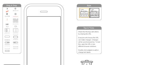 app design online tool 25 free mockup and wireframe tools for web designers