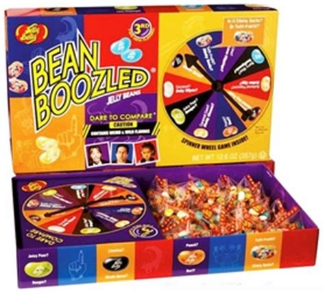 Jelly Belly Beanboozled Jelly Beans 3rd Edition beanboozled jelly beans 3rd edition jumbo spinner gift box