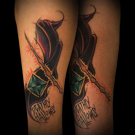 harry potter tattoo 105 harry potter designs meanings specially