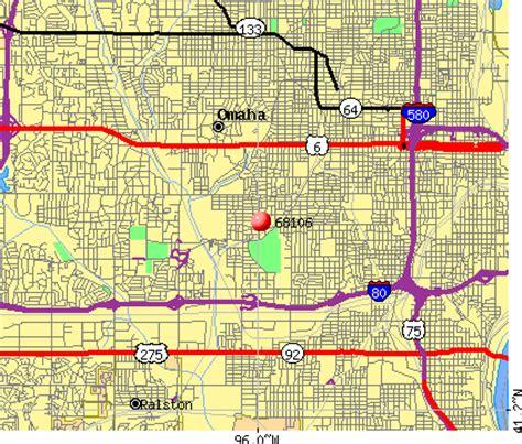 omaha zip code map 68106 zip code omaha nebraska profile homes apartments schools population income
