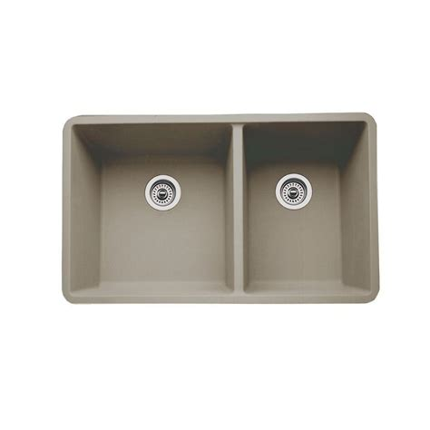 kitchen sink bowls blanco diamond dual mount composite 33 in 1 hole double