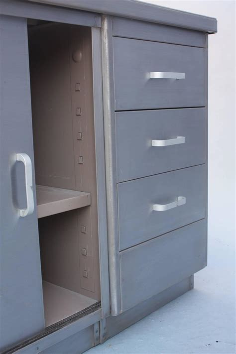 Commercial Storage Cabinets by Metal Industrial Storage Cabinet For Sale At 1stdibs