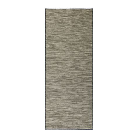 ikea outdoor rug hodde rug flatwoven in outdoor grey black 80x200 cm ikea