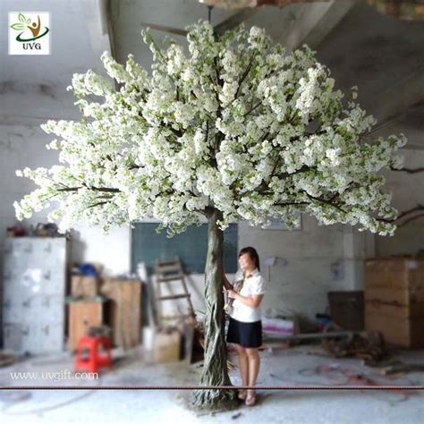 buy used wedding decor uvg 4m decorative artificial tree with white cherry