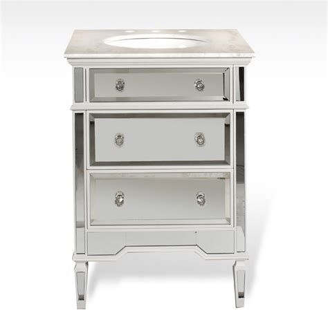 mirrored bathroom vanities mirrored bathroom vanity 24 inch ba847524