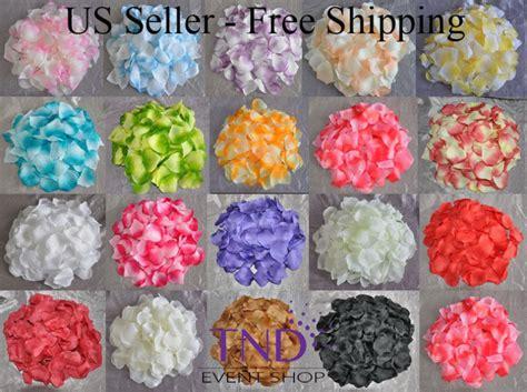 50 Pcs Table Confetti Decoration Silk Petals Flower wedding decorations