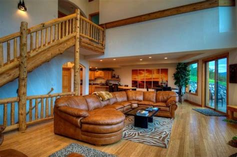 log home interior design log cabin home interior design