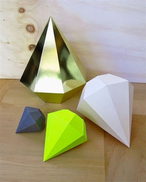 How To Make Diamonds Out Of Paper - 1000 ideas about paper on diy origami