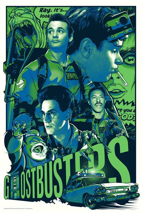 Gallery 1988 Presents Ghostbusters 30th Anniversary Art