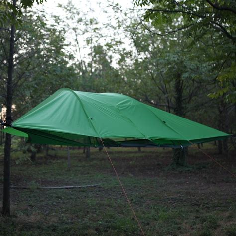 hanging tent new cing tree tent 2 person connect hanging hammock cing hiking outdoor survivor portable