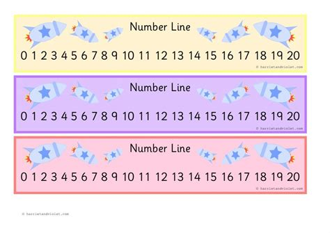 printable number line up to 20 4 best images of free printable number lines to 20