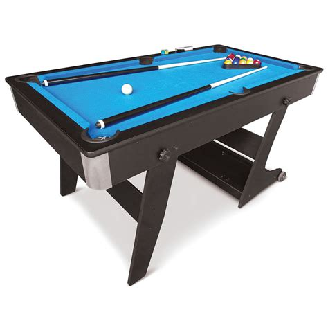 Digital Pool Table by The Foldaway Pool Table Hammacher Schlemmer