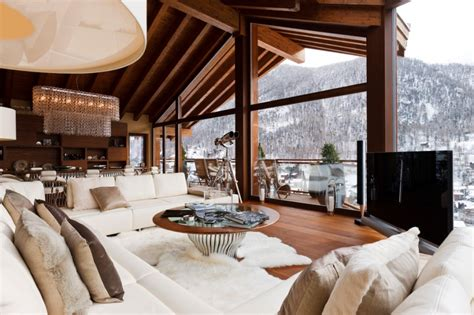 chalet chic interior style the luxpad