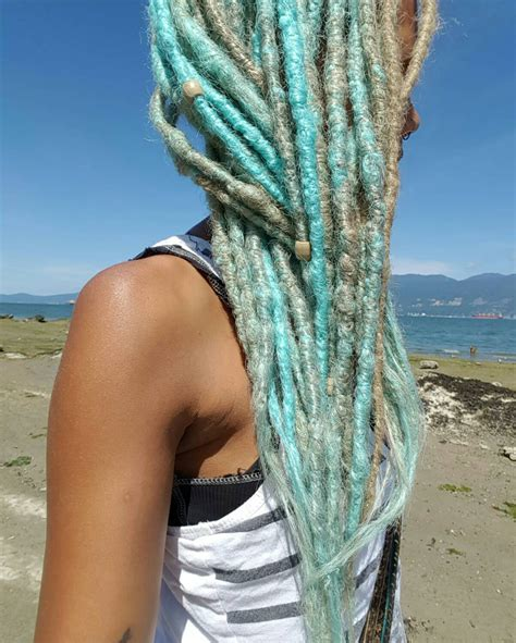 blonde dreadlocks extensions 10 natural look synthetic dreads natural looking