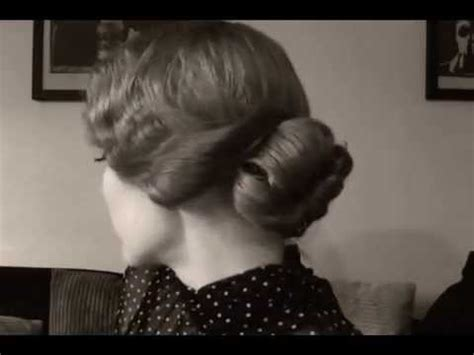 inspired hairstyle soft finger waves  bangs