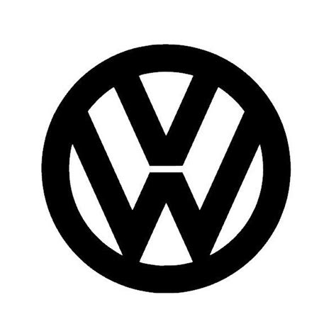 volkswagen logo vector stickers logo vw grafik stick