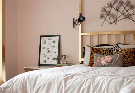 pink master bedroom blush pink master bedroom tour sources the gathered home