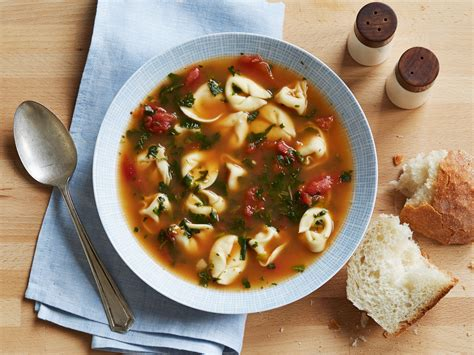spinach tortellini soup recipe food network kitchen food network
