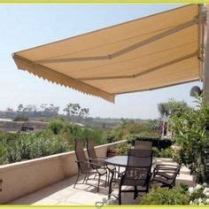 sunsetter awnings canada instant shade for ground floor windows balconies patios decks and terraces this