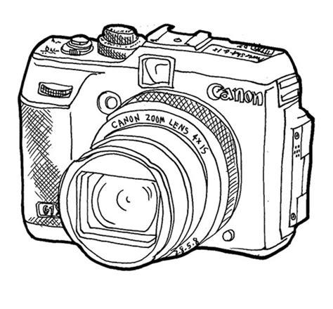fotoapparat ausmalbilder fuer erwachsene kostenlos zum