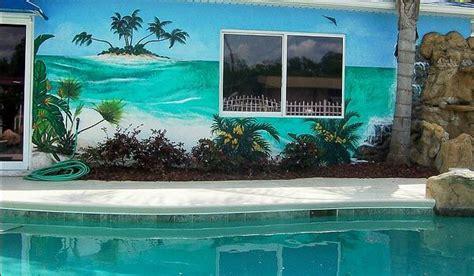 swimming pool wall mural ideas intheswim pool blog