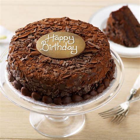 Chocolate Birthday Cake by Happy Birthday Chocolate Cake Bettys